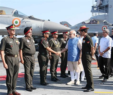 Pm Gets A Glimpse Of Indian Navy's Might