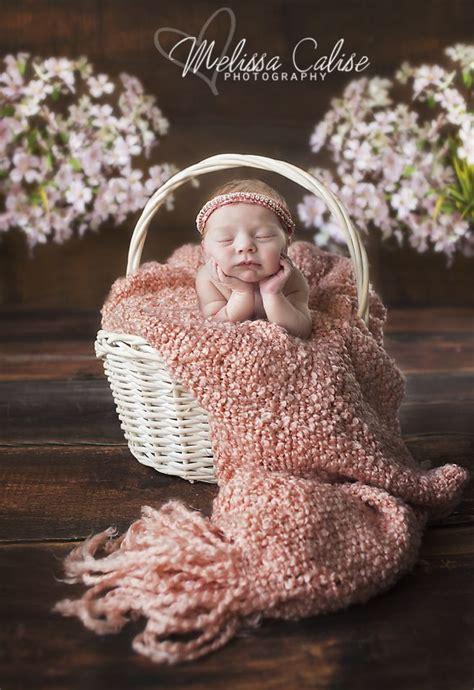 melissa calise photography newborn baby girl chin hands