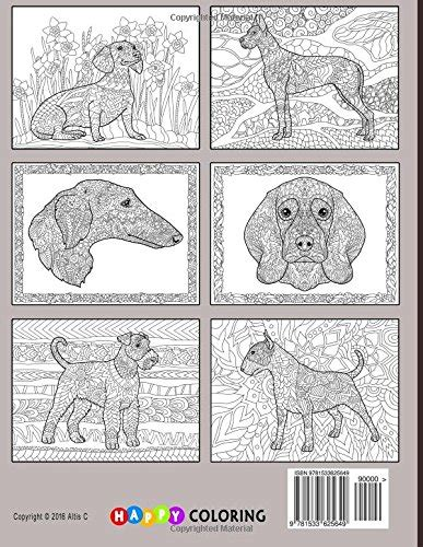 doodle dogs adult coloring book doodle dogs coloring book for adults happy coloring