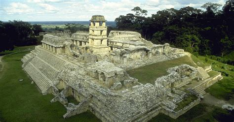 pre hispanic city  national park  palenque unesco