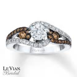 chocolate engagement rings le vian engagement ring chocolate diamonds 14k vanilla gold