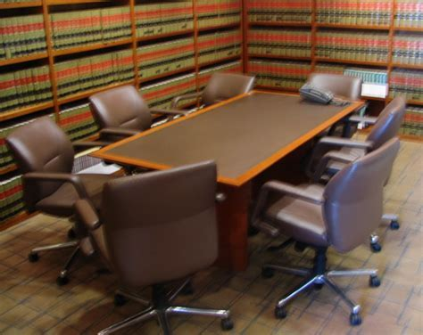 Law Office Auction: Conference Tables