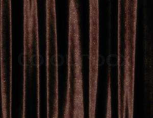Brown curtain with pattern stock photo colourbox for Curtain patterns texture