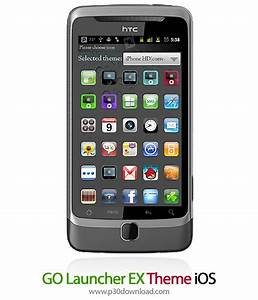 GO Launcher EX Theme iOS A2Z P30 Download Full Softwares ...