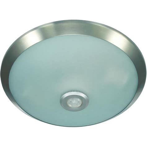 e27 chrome ceiling light with motion sensor from conrad
