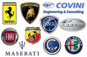 Sport Car Manufacturer Symbols