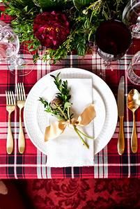 Two, Christmas, Table, Settings