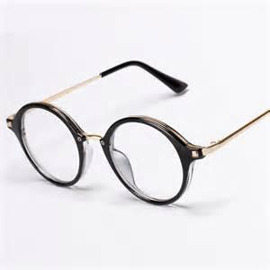 wholesale vintage eyeglasses gold metal rivets designer glasses frames cheap - Designer Glasses