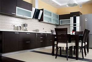 pictures of kitchens modern dark wood kitchens With kitchen cabinet trends 2018 combined with set de table en papier