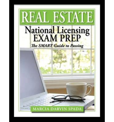 National Real Estate Exam Prep The Smart Guide To Passing  Marcia Darvin Spada 9781111427139