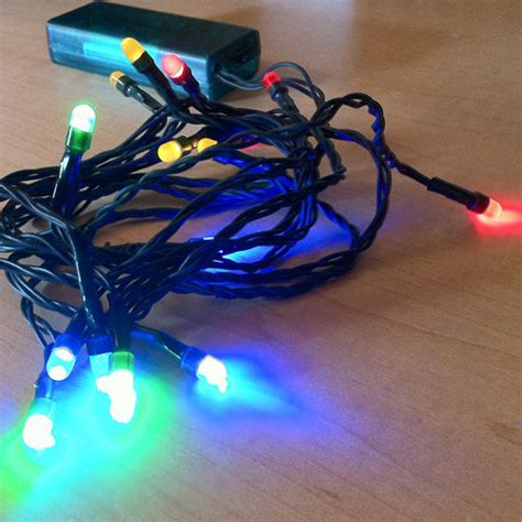 led video light kit light up your ugly christmas sweater with battery operated