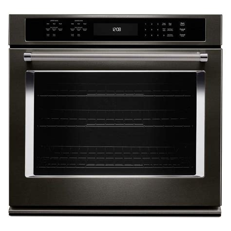 kitchenaid   single electric wall oven  cleaning