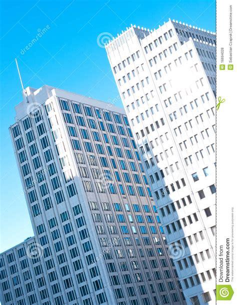 edifici per uffici berlino edifici per uffici moderni fotografia stock