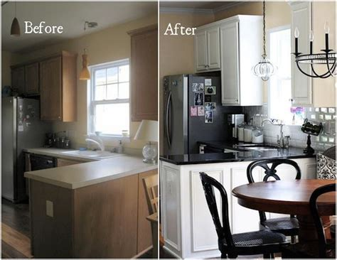 redo kitchen cabinets before and after صور مطابخ قبل وبعد مجلة البيت تصميم داخلي و ديكورات 9206