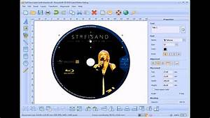 how to make and print blu ray dvd label youtube With how to make dvd labels