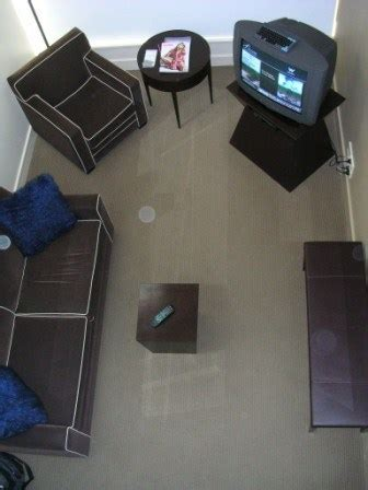 square foot  examination  hotel room size