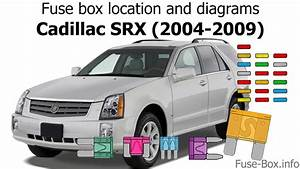 Fuse Box Location And Diagrams  Cadillac Srx  2004-2009