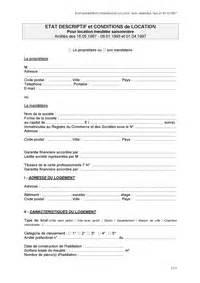 Contrat De Location Non Meublée Gratuit by Modele Contrat De Location Meuble Word Document Online