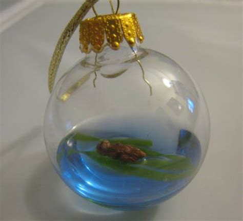 sea otter christmas ornament christmas at the beach