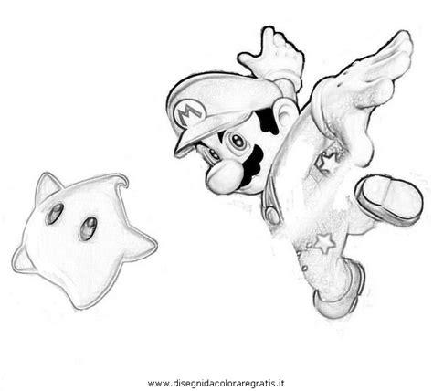 personaggi da colorare mario disegno super mario galaxy 6 personaggio cartone animato