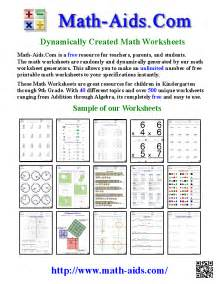 your search is over this site has the best math worksheets you can find or create the exact