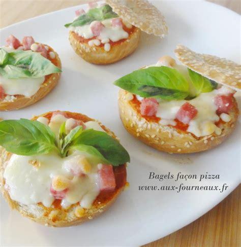 cuisiner des feuilles de blettes bagels facon pizza aux fourneaux