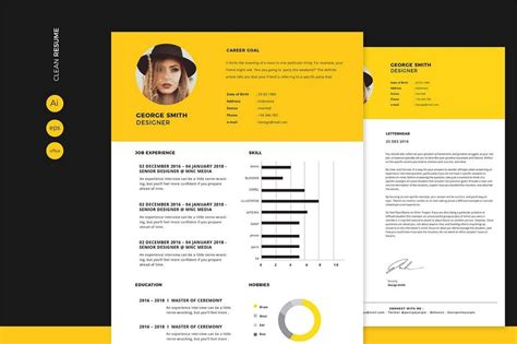 Great Cv Templates by 30 Best Cv Resume Templates 2019 Creative Touchs