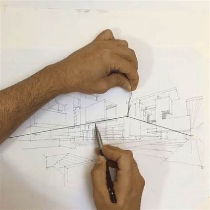 Perspective String Hack Point Elastic Sketching Drawing
