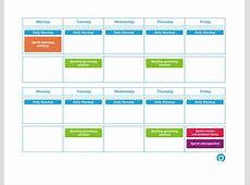 Biweekly sprint Scrum calendar – Greg Patricio