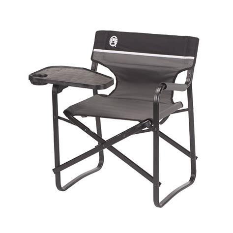coleman deck chair with swivel table cingcomfortably