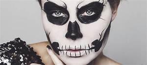 Maquillage Halloween Enfant Facile : maquillage halloween squelette mexicain homme ~ Nature-et-papiers.com Idées de Décoration