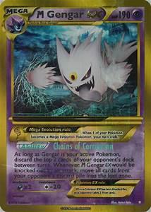 Shiny Mega Gengar Ex card by Metoro on DeviantArt