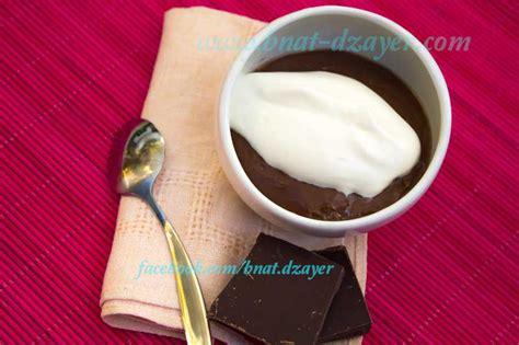 cr 232 me dessert au chocolat comme une danette bnat dzayer