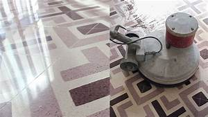 Cristalliser un sol en carreaux granito youtube for Carreaux granito