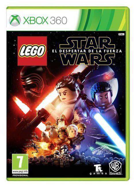 Carátula Lego Star Wars El Despertar De La Fuerza Xbox