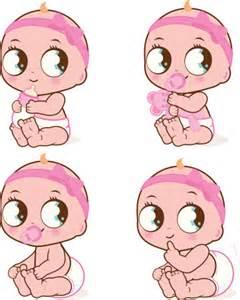 Girl Drinking Baby Bottle Clip Art
