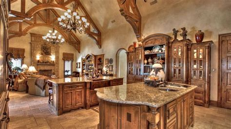 kitchen design adorable castle kitchen design  big display cupboard brown granite