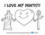 Dental Coloring Pages Teeth Health Preschool Tooth Hygiene Activities Print Month Sheets Sheet Activity Children Office Dentist Printable Valentine Valentines sketch template