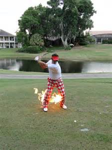 Loudmouth Golf Pants Fire