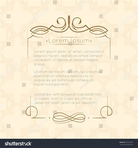 border designs greeting cards template design stock vector