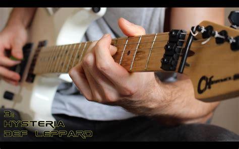 Top 20 Clean Guitar Riffs   Guitar lessons, Guitar riffs ...