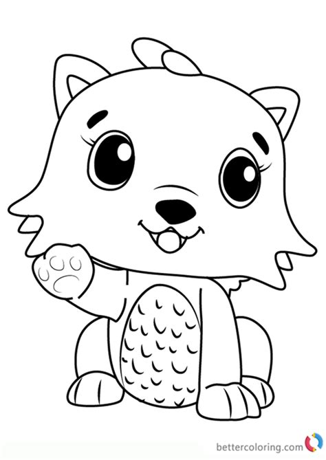 kittycan  hatchimals coloring pages  printable coloring pages
