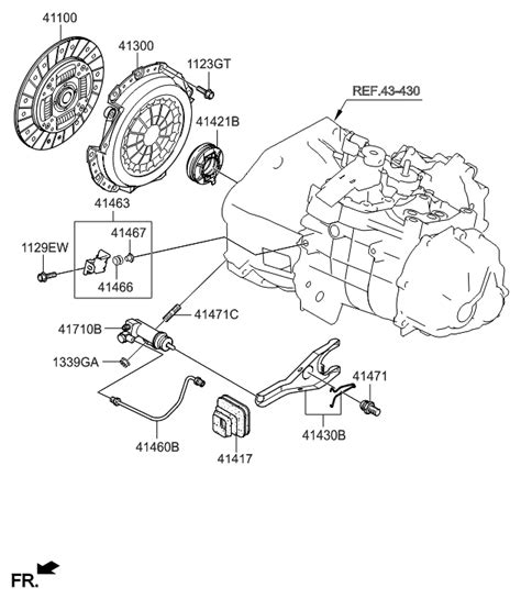 Genuine Hyundai Cylinder Assembly Clutch Release