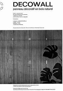 Panneau Bois Decoratif : panneau d coratif en bois naturel ~ Teatrodelosmanantiales.com Idées de Décoration