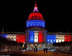 Paris attacks lead to world's iconic buildings lit up in ...