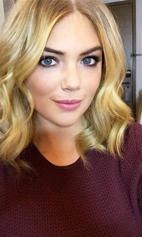 kate upton cuts  hair   inches shorter embraces