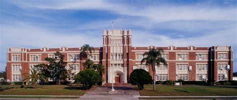 high school  building historical highlights