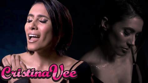 cristina vee no tears left to cry [ariana grande cover] youtube