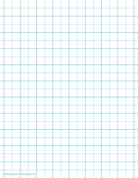 printable graph paper  squares    graph ruled