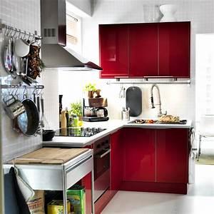 Cuisine Ikea Petit Espace : 6 astuces pour am nager une cuisine de pro chez soi ~ Premium-room.com Idées de Décoration